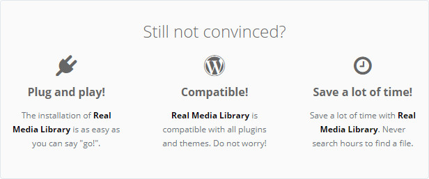 WordPress Real Media Library - Media Categories / Folders File Manager - 25