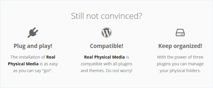 WordPress Real Physical Media - Physical Media Library Folders & Seo Rewrites - 20