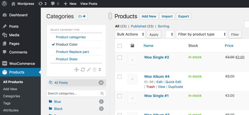 Release 2 4 - Hierarchical WooCommerce attributes (3 x